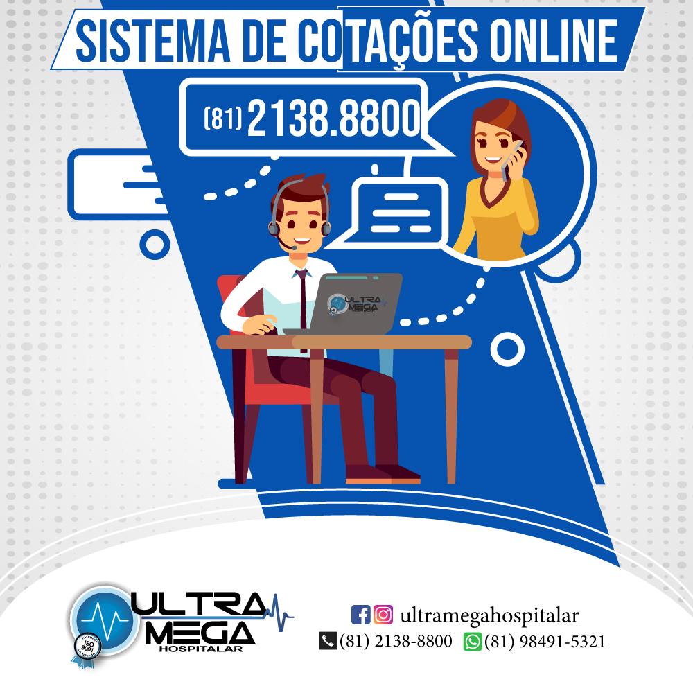 Sistema de Cotações Online