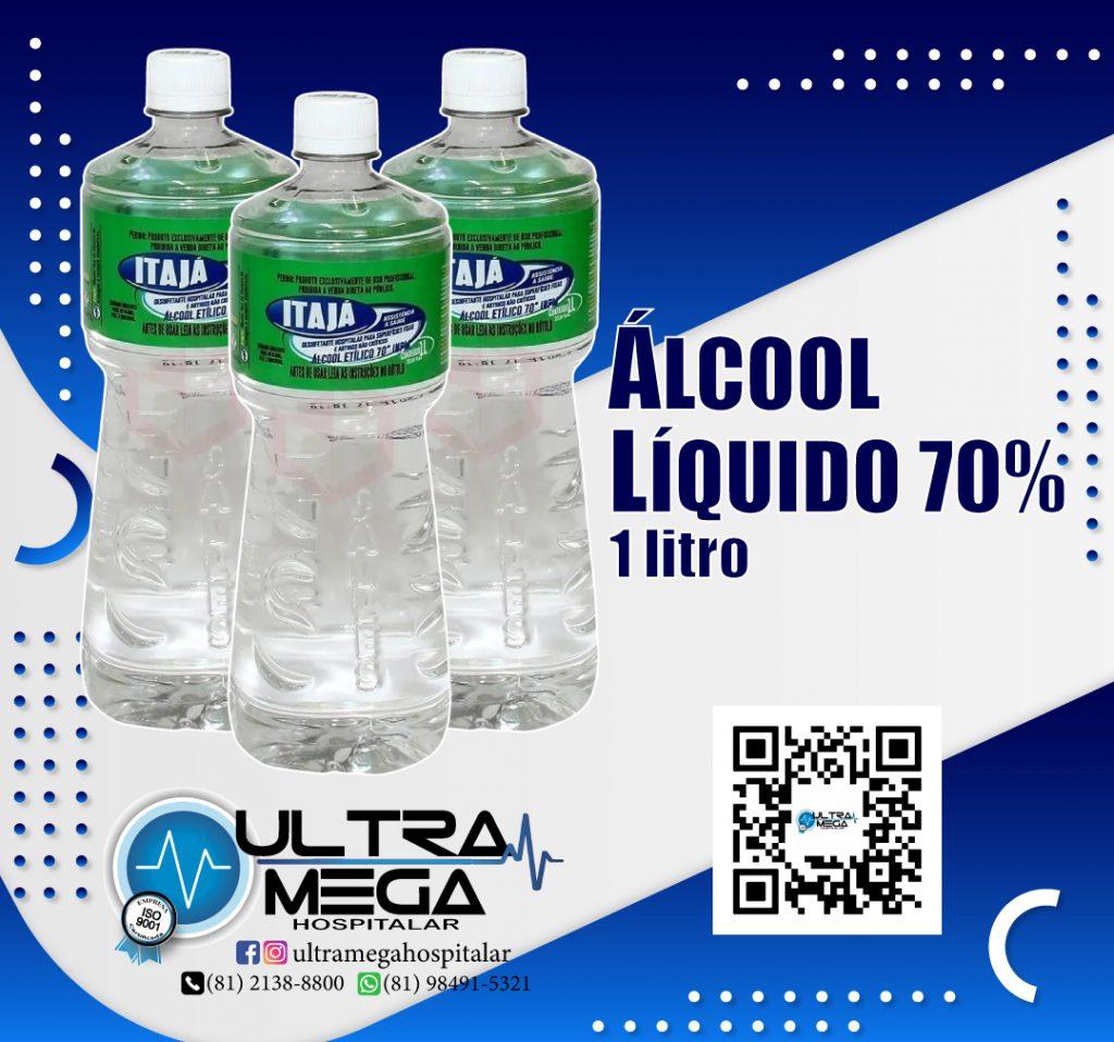 Álcool Líquido e em gel