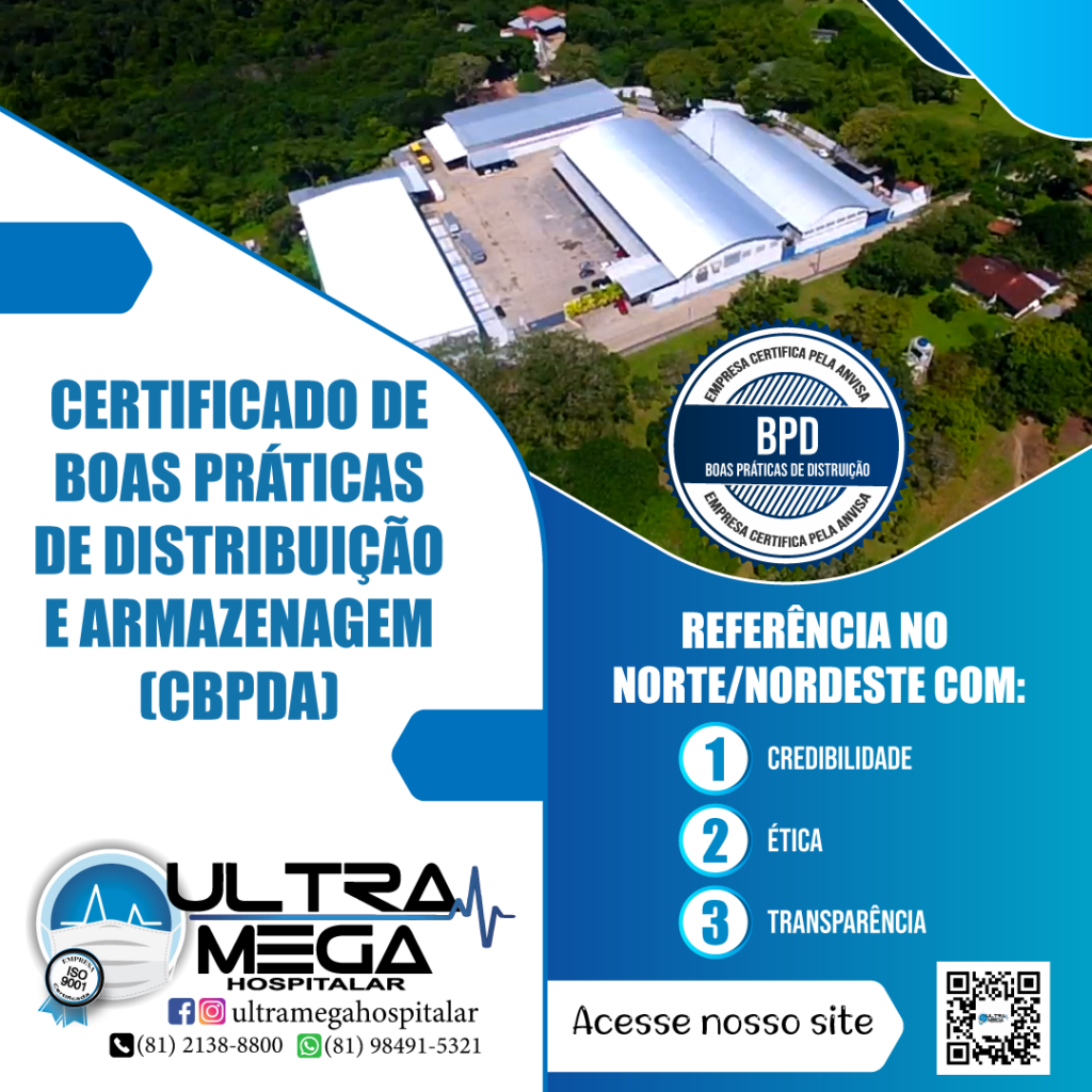 Certificado de Boas Práticas de Distribuição e Armazenagem